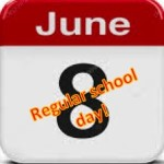 June 8 school day